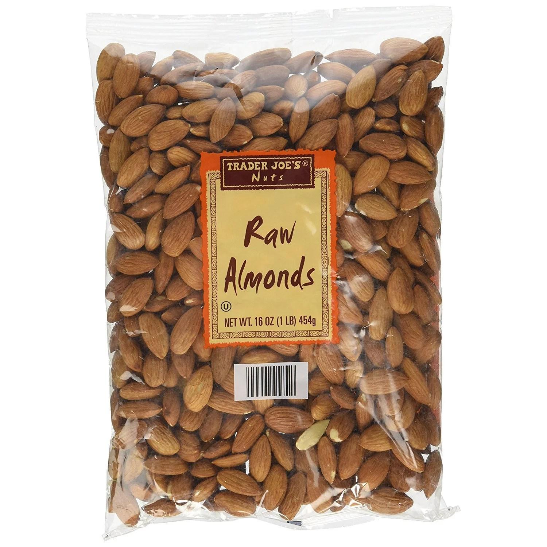 Trader Joe's Raw Almonds 16 Oz - Walmart.com
