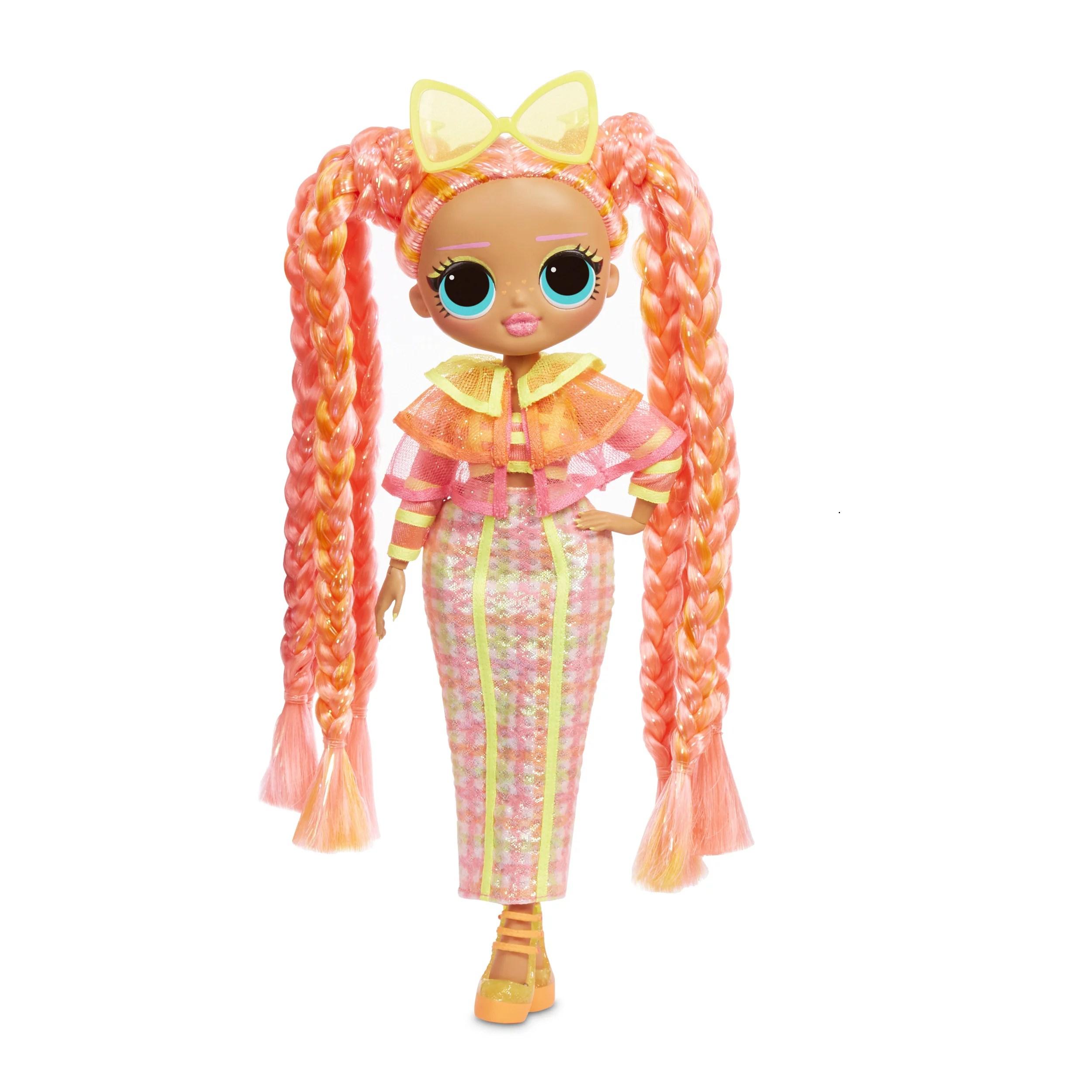 l o l surprise o m g lights dazzle fashion doll with 15 surprises walmart com