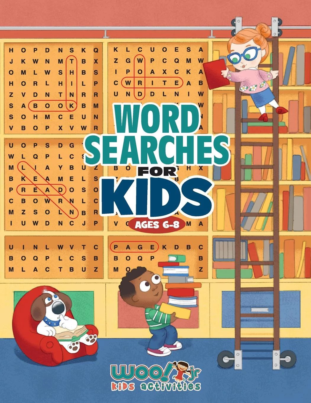 Word Search For Kids Ages 6 8 Reproducible Worksheets