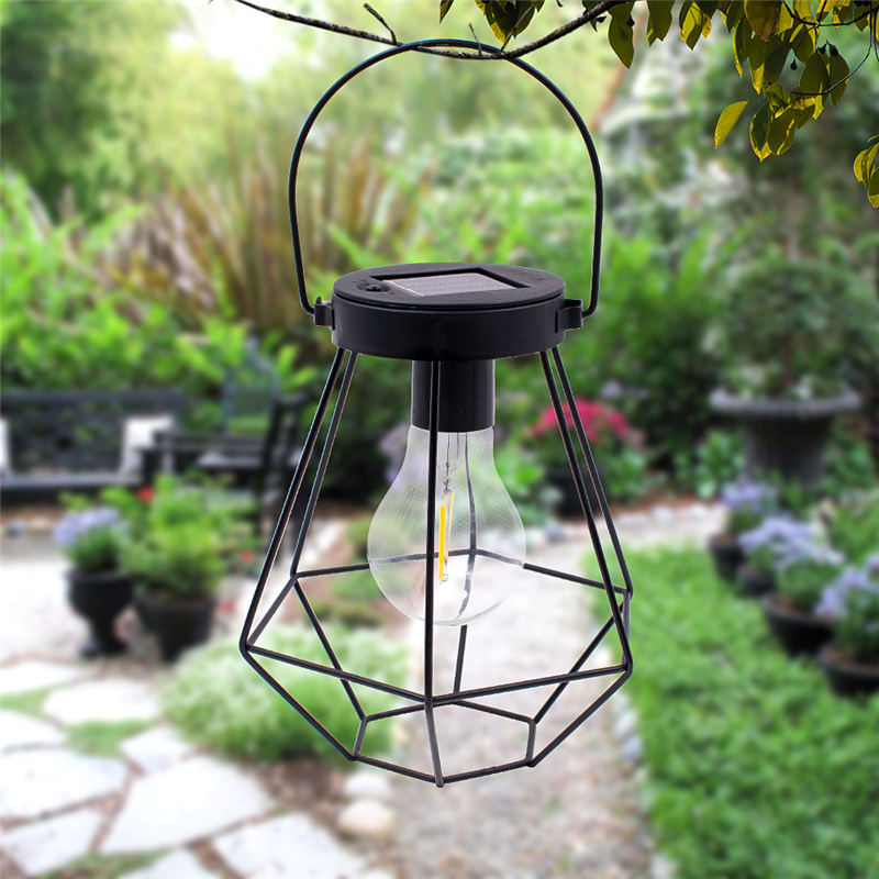 solar lanterns outdoor hanging sunwind led garden table lamps solar powered edison filament bulbs for patio backyard courtyard lawn landscape decor