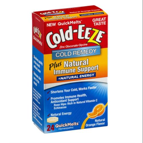 COLD-EEZE Cold Remedy Plus Natural Immune Support ...