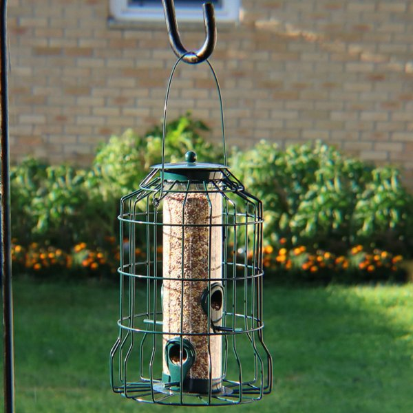 Sunnydaze Decor 4 Peg Squirrel Proof Wild Bird Feeder   Walmart com Sunnydaze Decor 4 Peg Squirrel Proof Wild Bird Feeder