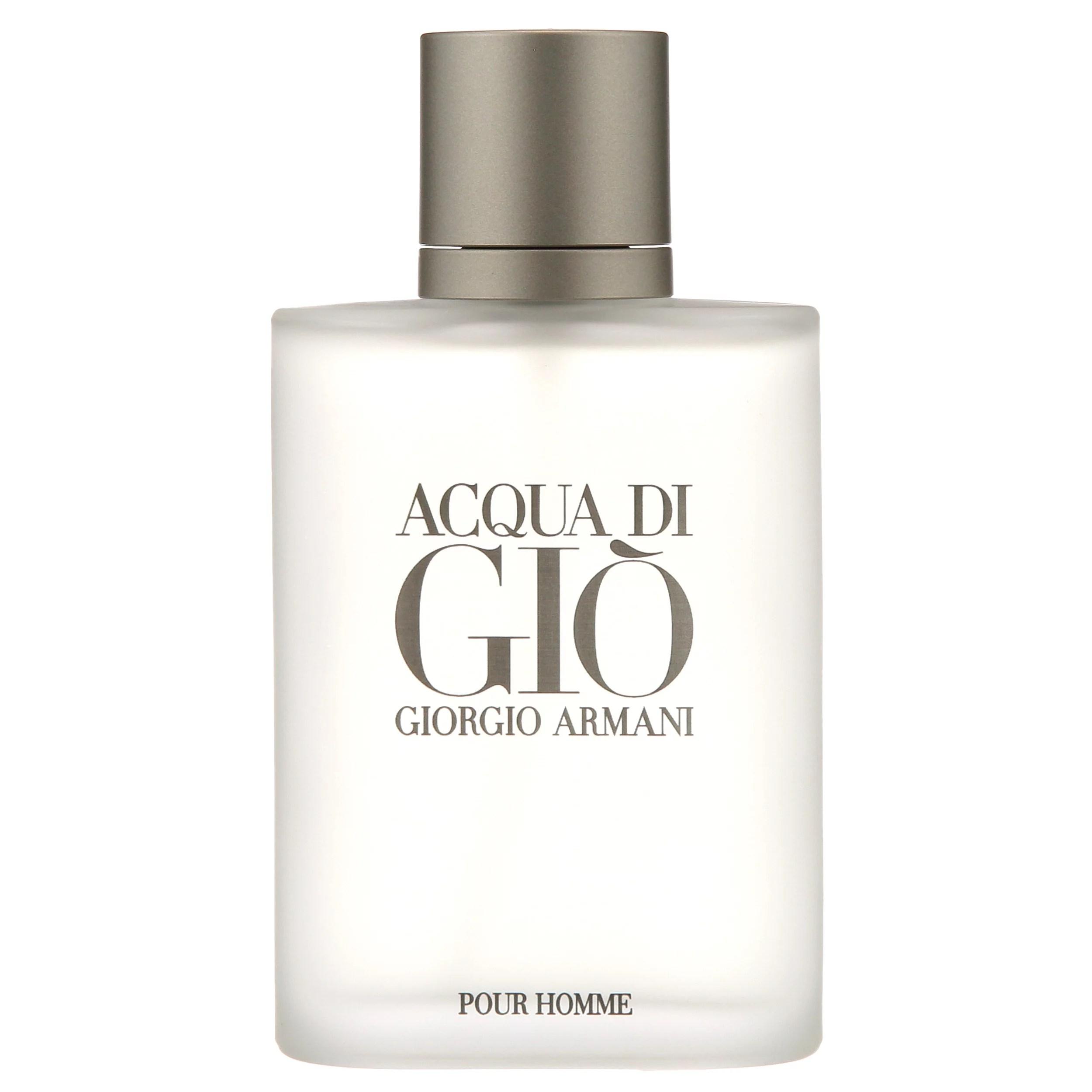 Giorgio Armani Acqua Di Gio Pour Homme Eau de Toilette Spray, Cologne for Men, 3.4 Oz