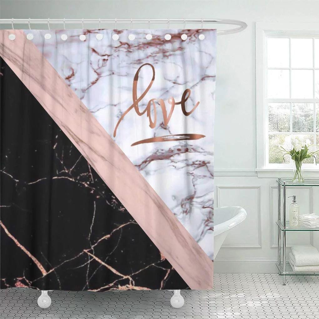 fabric shower curtains gold walmart com
