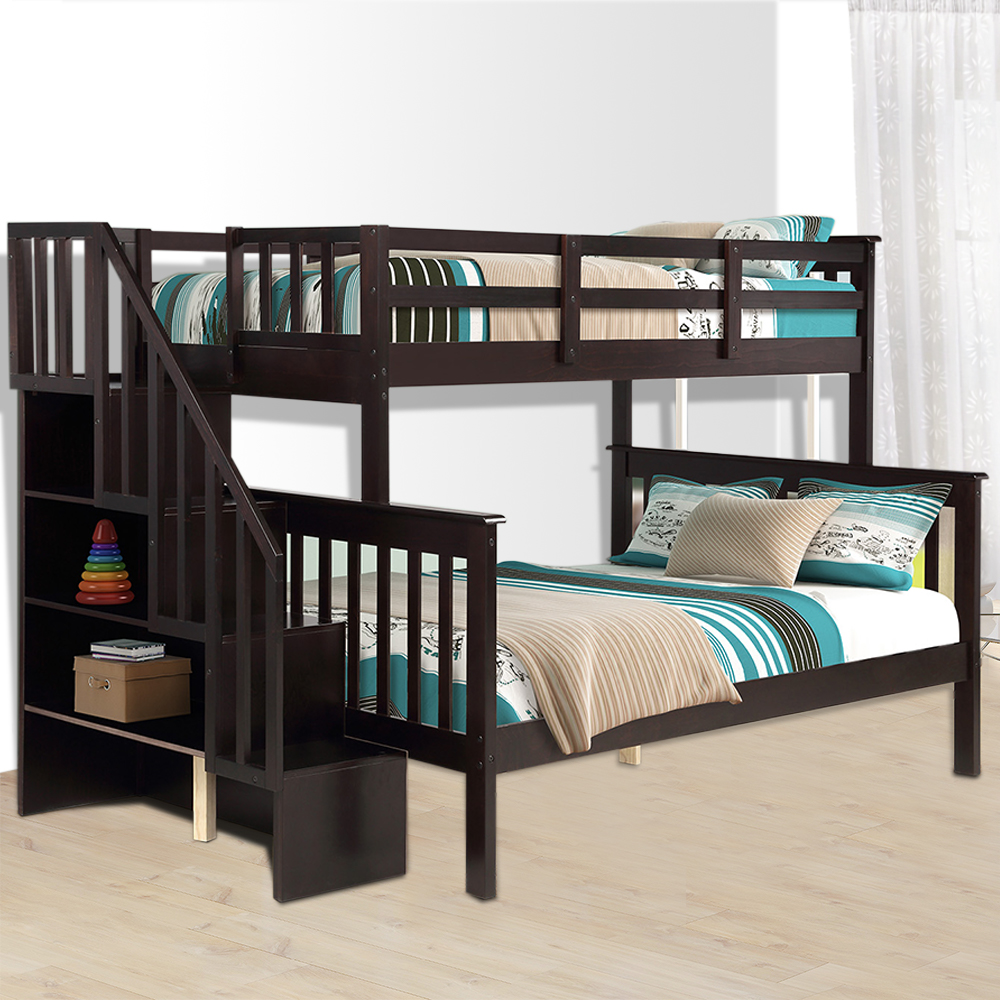 twin over full bunk bed clearance 76 97 x 51 57 space on walmart bedroom furniture clearance id=57268