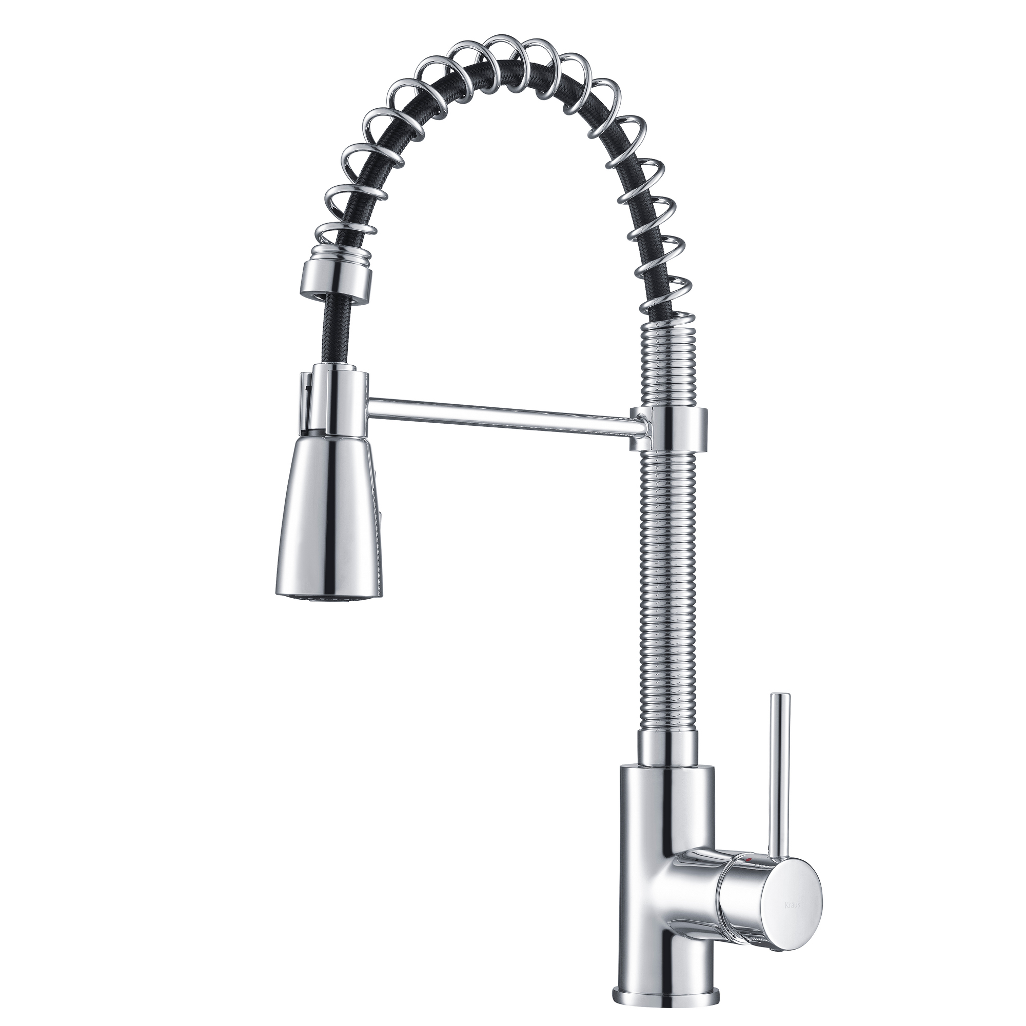 https www walmart com ip kraus commercial style kitchen faucet with spring spout and 3 function pull down sprayer chrome finish 38440060