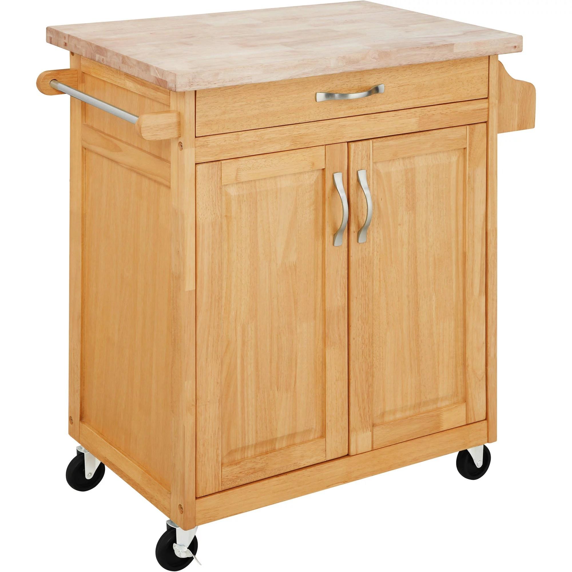 Mainstays Kitchen Island Cart Multiple Finishes