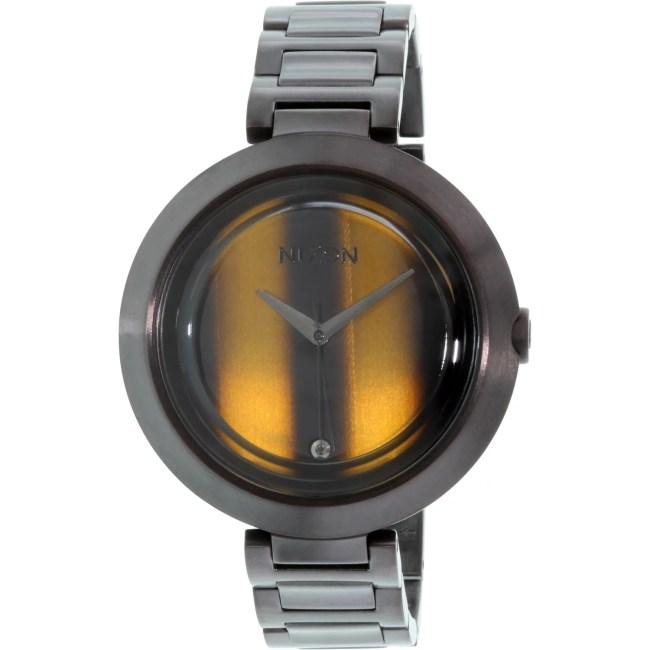 Nixon Women's Optique A2641073 Black Stainless-Steel Quartz Fashion Watch