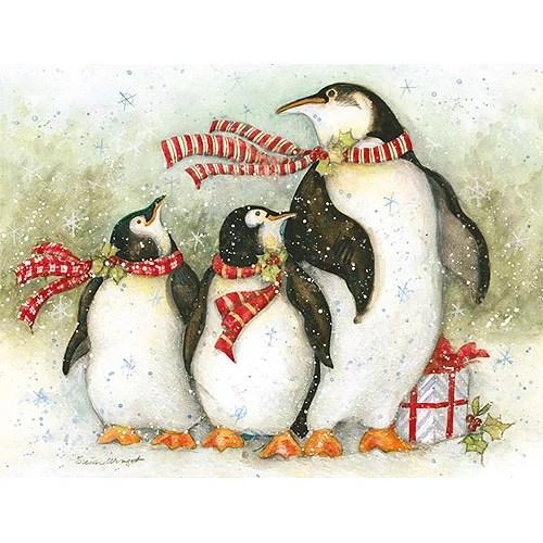 Christmas Day Penguins Boxed Christmas C