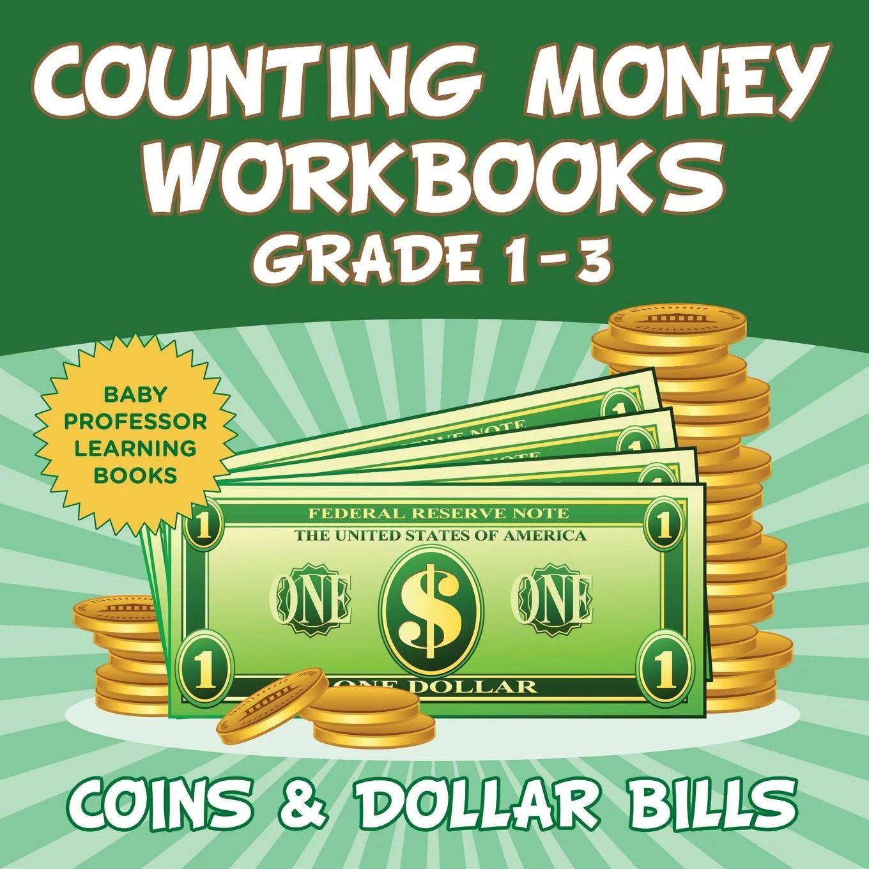 Counting Money Workbooks Grade 1