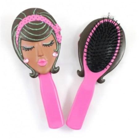 jacki design jgs pk angel style hair brush pink walmart