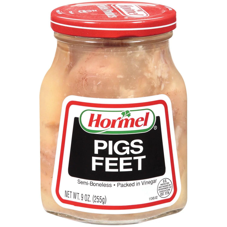 Hormel Jarred Pigs Feet Semi Boneless in Vinegar 9 Oz