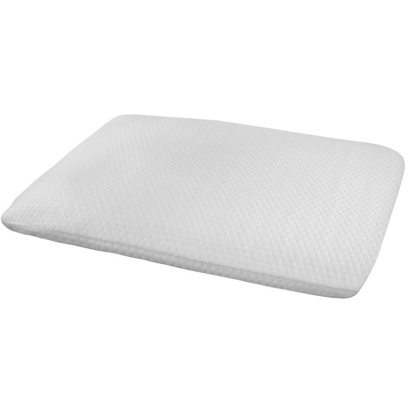ultra slim sleeper memory foam pillow 2 5 inches thin pillow for back stomach sleepers