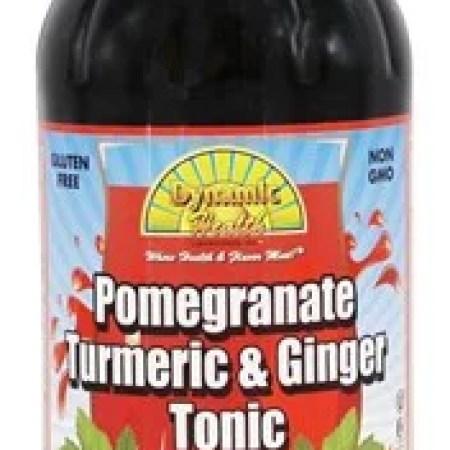 Dynamic Health Pomegran Turmeric Ginger Tonic, 16 Oz