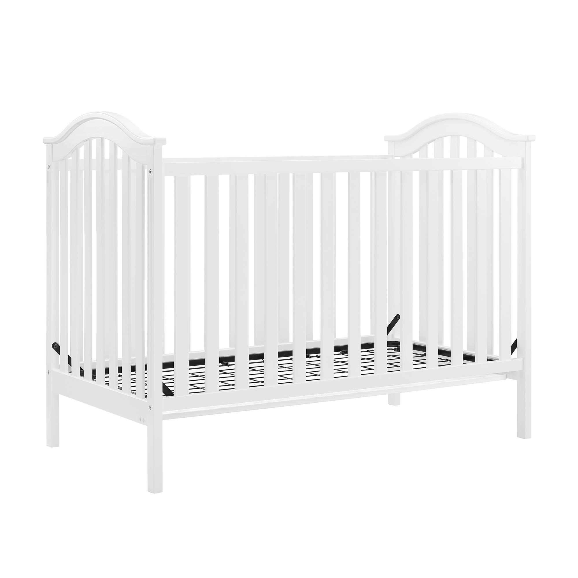 baby relax adelyn 2 in 1 convertible crib white