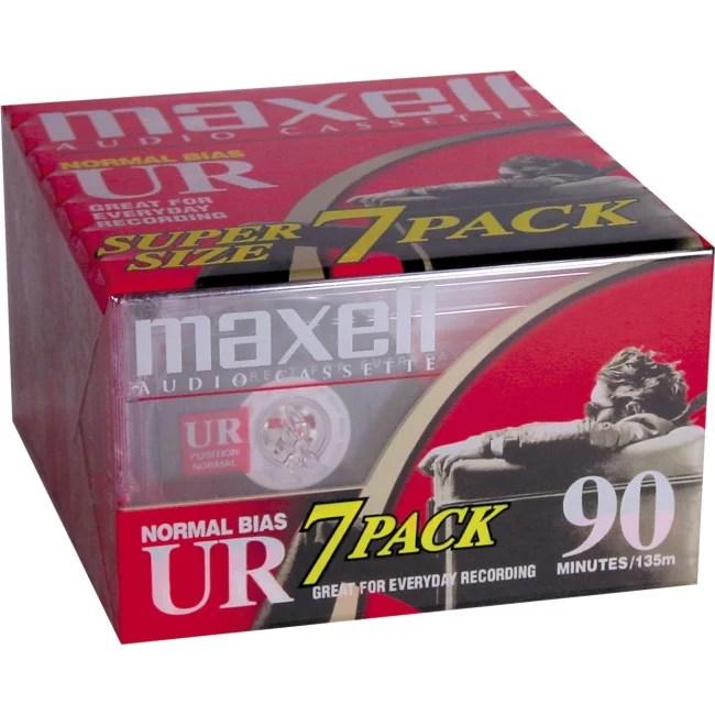 Maxell UR Type I Audio Cassette 108575