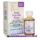 B Protected Pedia Poly-Vite Drops 1 2/3 fl oz Liquid