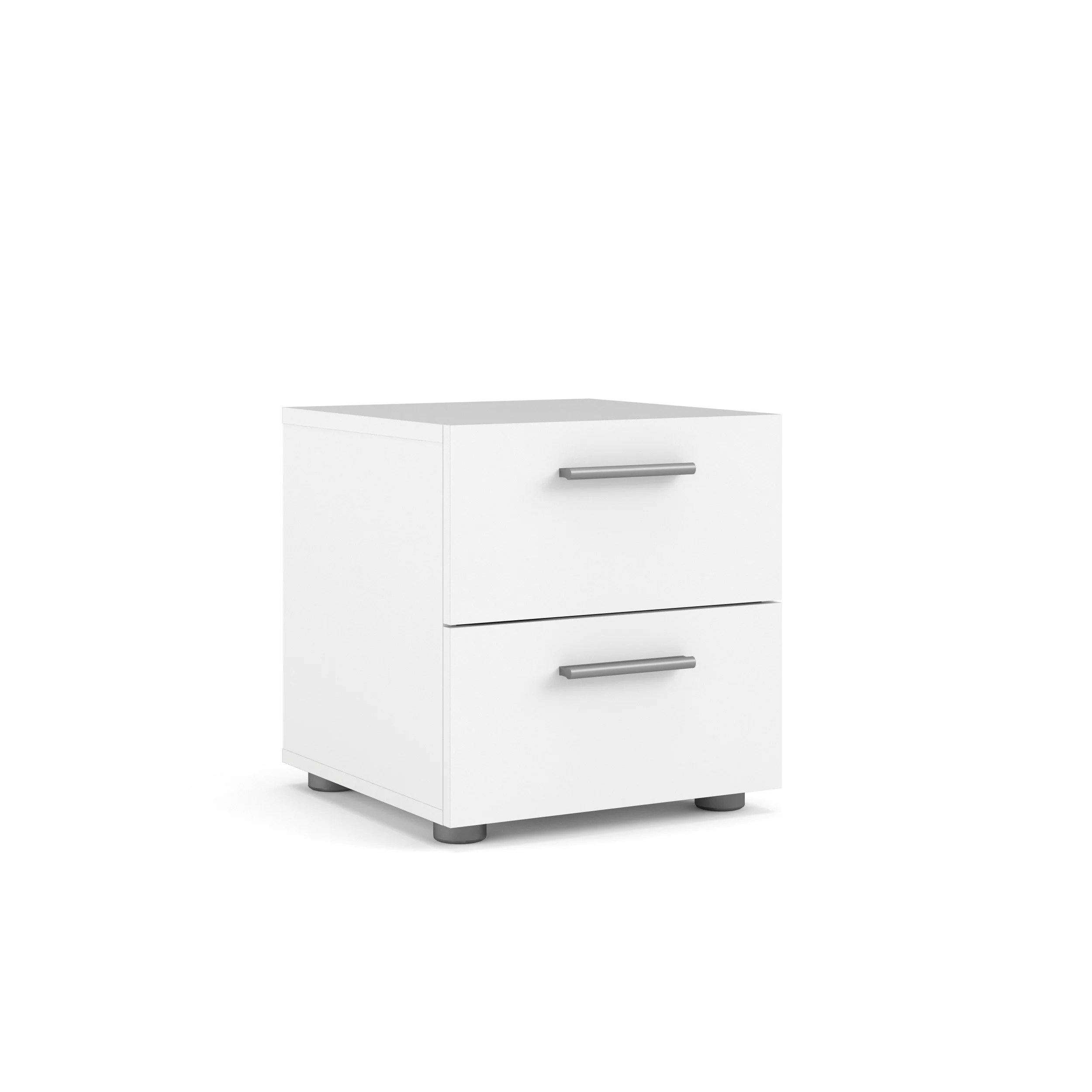 tvilum loft collection 2 drawer nightstand white walmart com