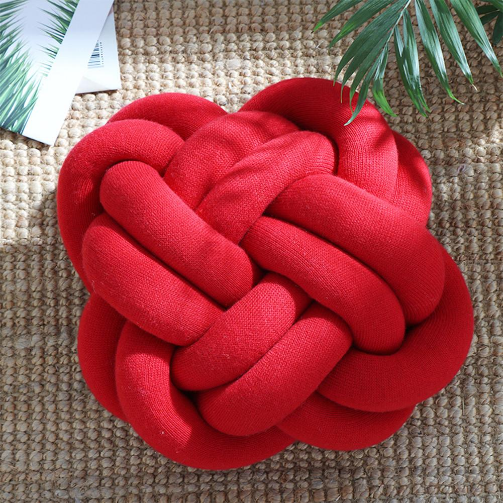 creative soft knot cushion knotted ball pillow home sofa office decor pillow baby sleep throw pillows decoration