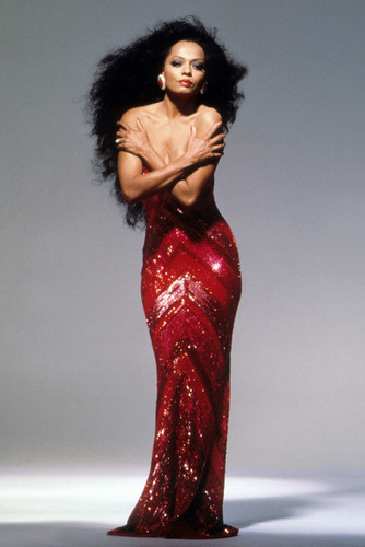 diana ross busty sexy arms across chest iconic pose 24x36 poster