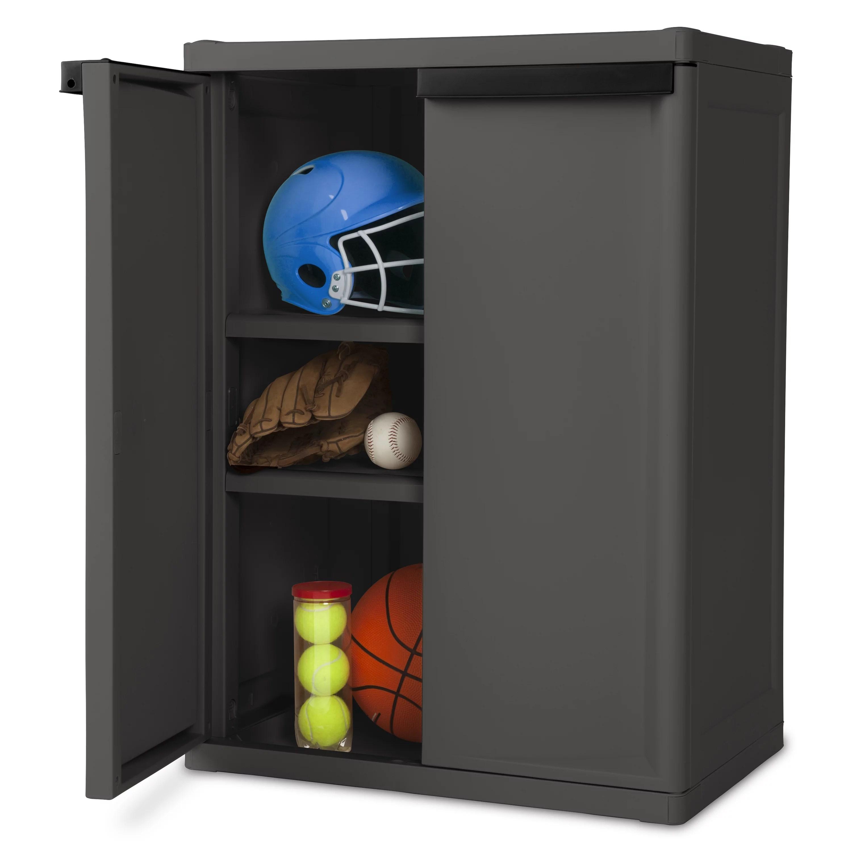 Grey Utility Storage Cabinets
