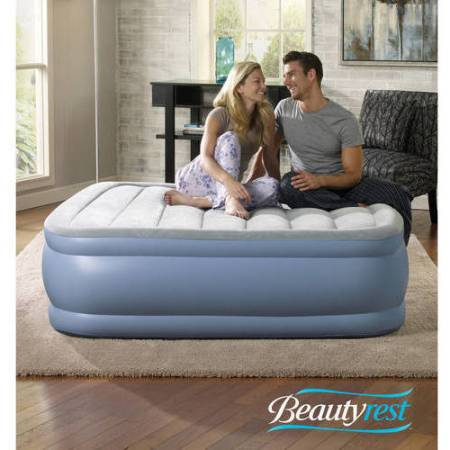 Simmons Beautyrest Hi Loft Raised Air Bed Mattress With Express Pump Multiple Sizes