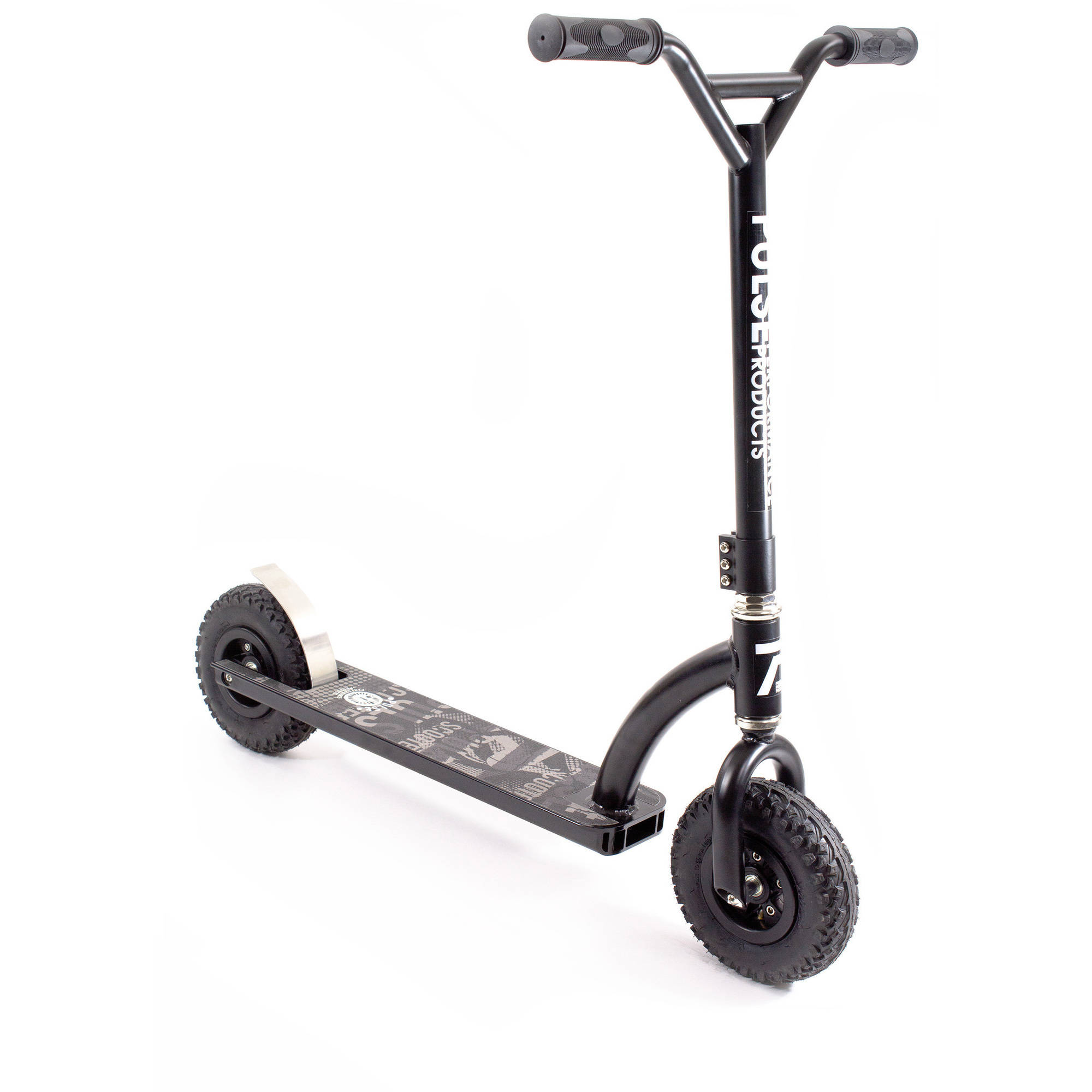 Freestyle Dirt Scooter Knobby Tires Foot Brake Outdoor