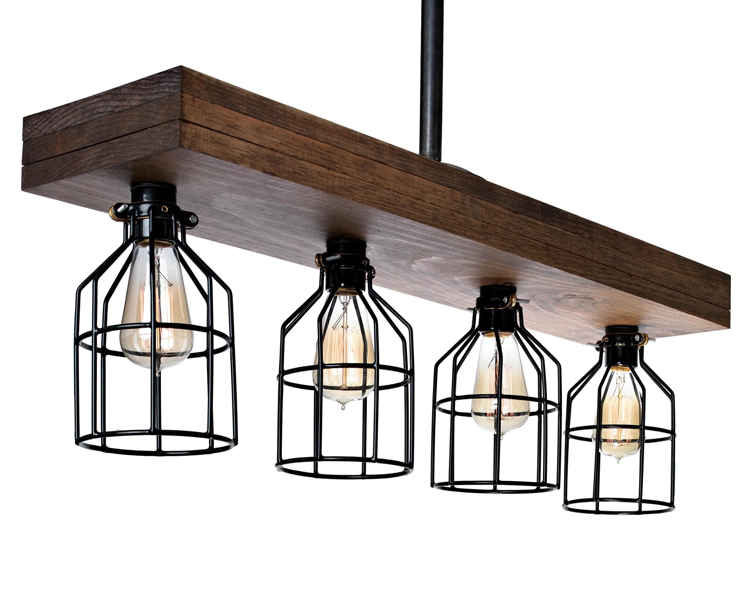 farmhouse chandelier wood chandelier
