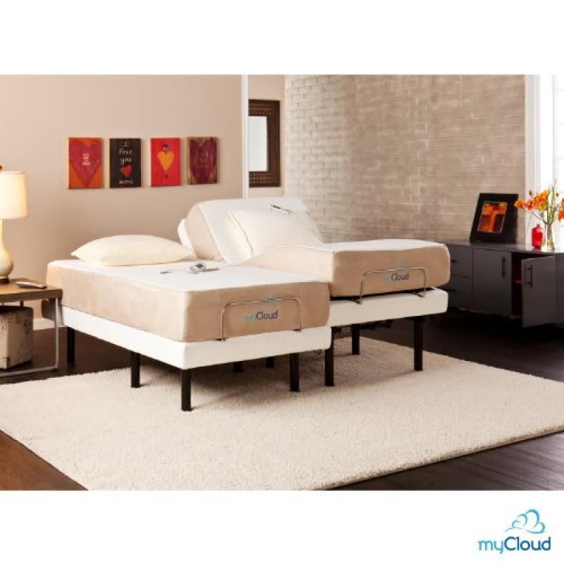 MyCould Adjustable Bed Frame Split California King
