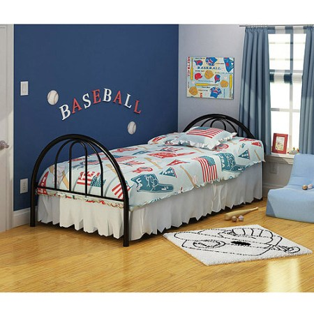 Brooklyn Twin Bed Black
