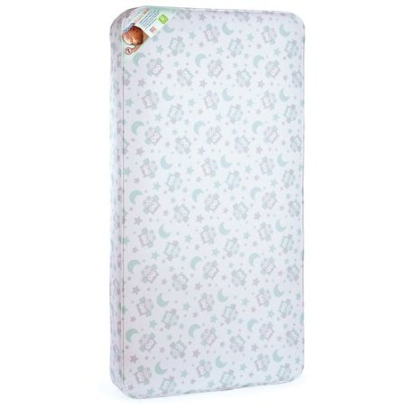 Kolcraft Pediatric 800 Toddler And Crib Mattress Owl Innerspring