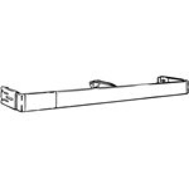 18 28 adjustable length with 2 1 2 dia continental curtain rod from kirsch