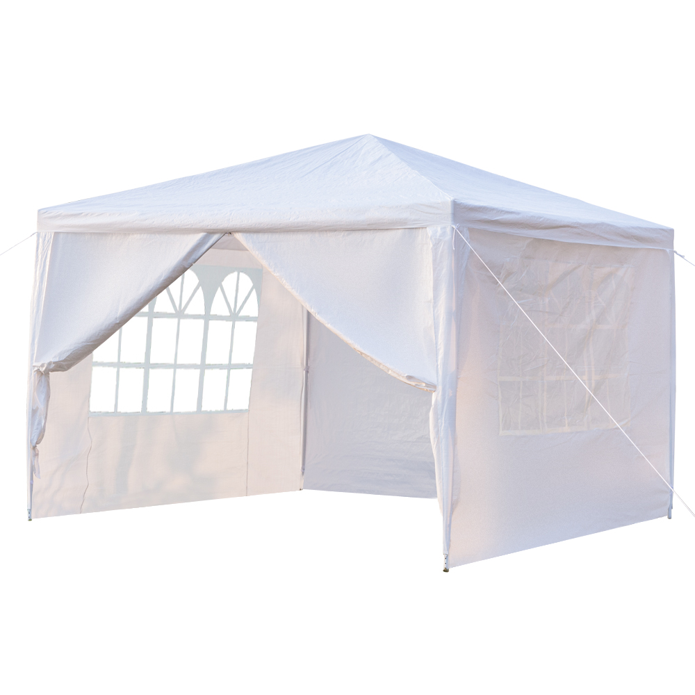 clearance backyard tent for parties urhomepro 2020newest wedding party tent waterproof patio gazebo with 4 removable sidewalls canopy tent for