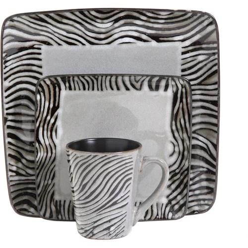 Zebra Dinnerware Sets Animal Print Best Of Disposable Leopard  sc 1 st  123400 Best Zebra 2018 & Zebra Print Dishes - Best Zebra 2018