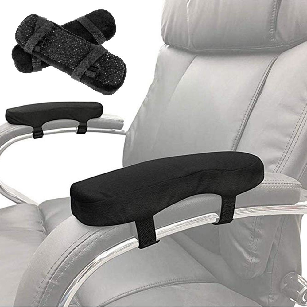 armrest pads chair arm covers cushions ergonomic memory foam anti slip elbow support pillow for elbow relief