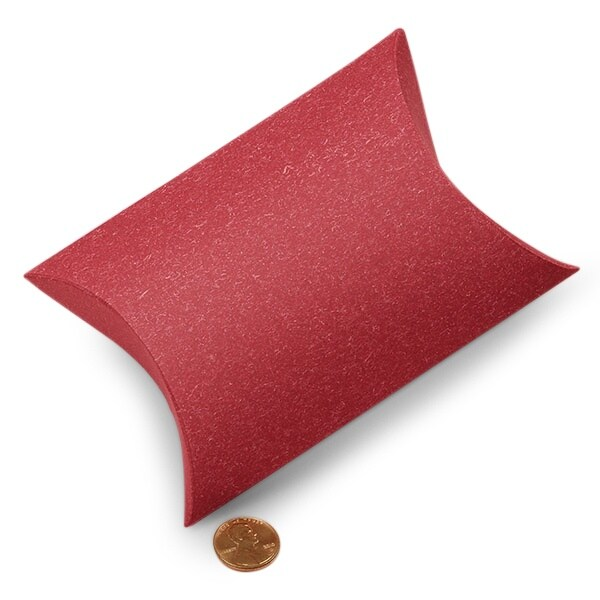 red pillow boxes 5 1 8 x 1 1 2 x 5 3 4 quantity 200 width 1 1 2 by paper mart