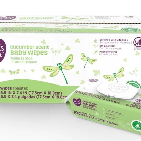 Huggies One & Done Baby Wipes, Cucumber & Green Tea