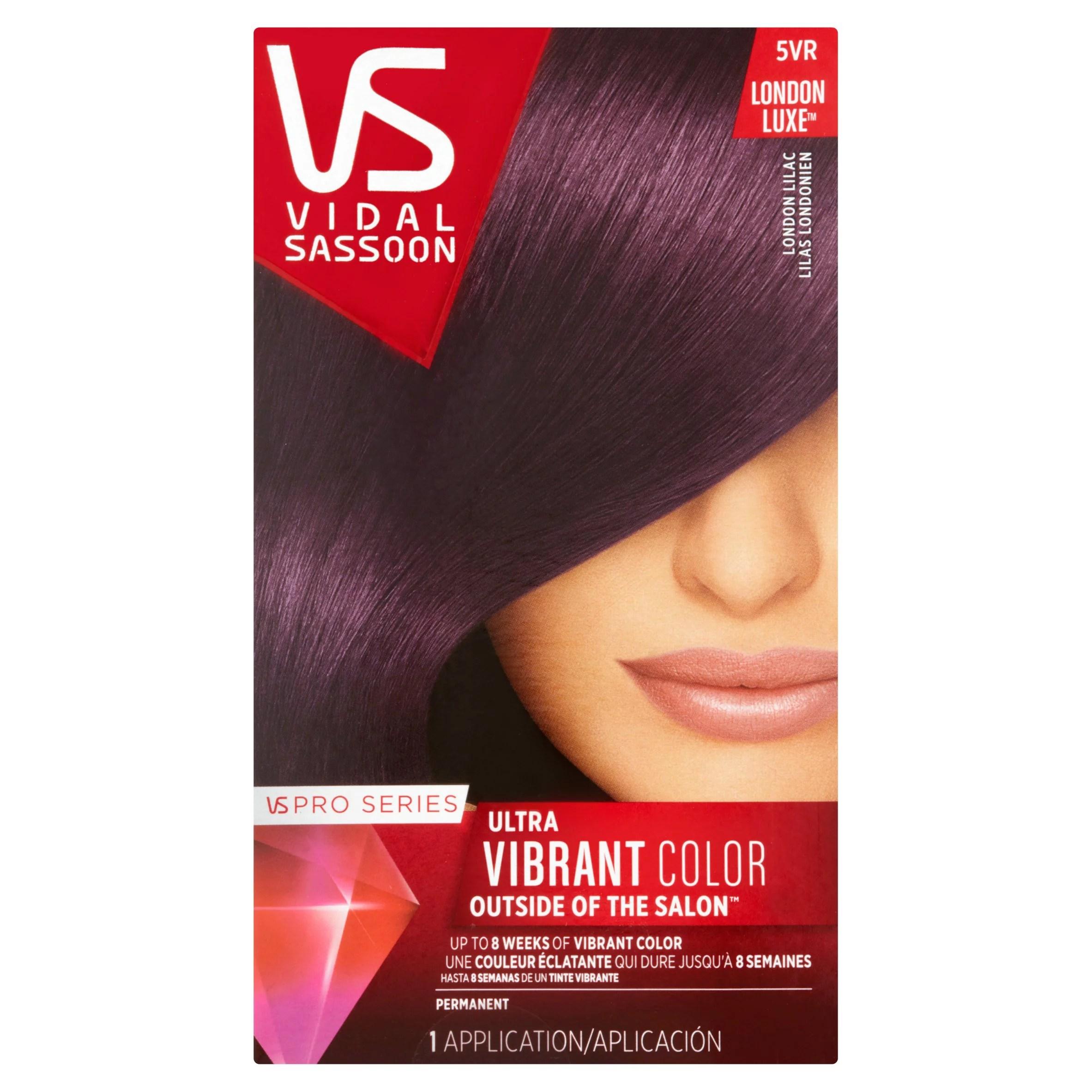 Vidal Sassoon Pro Series Hair Color 5VR London Lilac