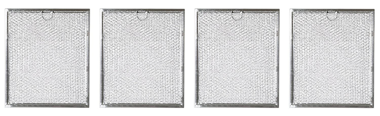 replacement microwave grease filter for ge general electric hotpoint wb6x486 4 filters