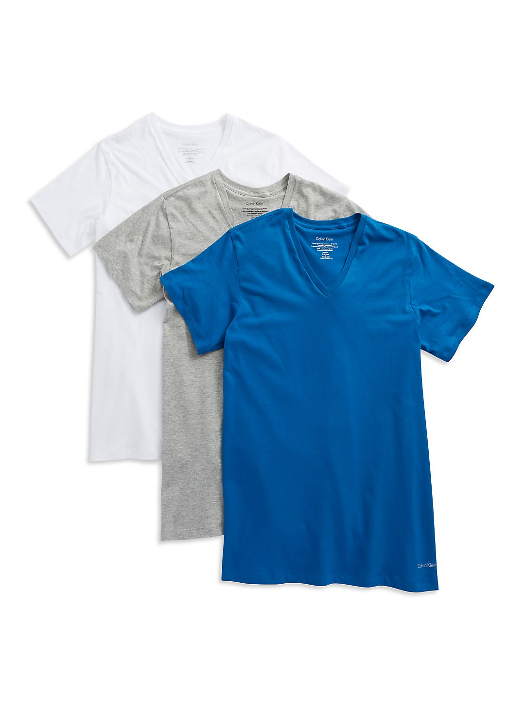 3-Pack Classic-Fit Cotton V-Neck Tees