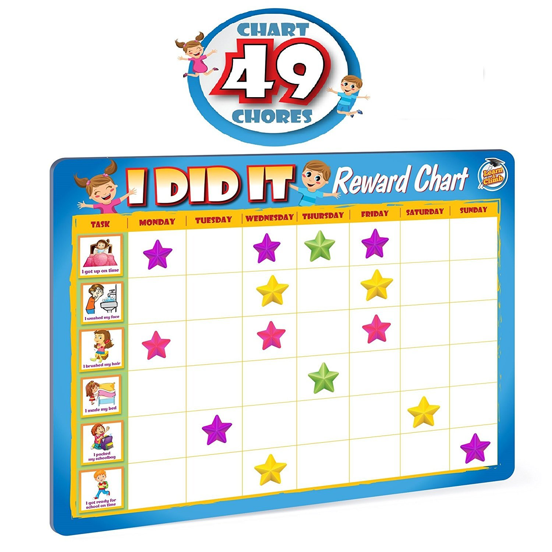 Rewards Chore Chart For Kids