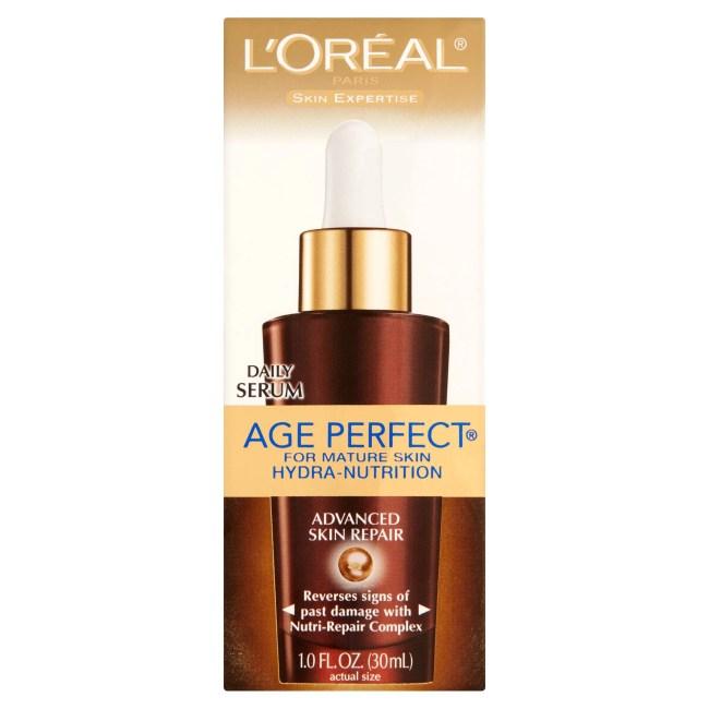 L'Oreal Paris Skin Expertise Age Perfect Mature Skin Hydra-Nutrition Advanced Repair Serum, 1.0 FL OZ