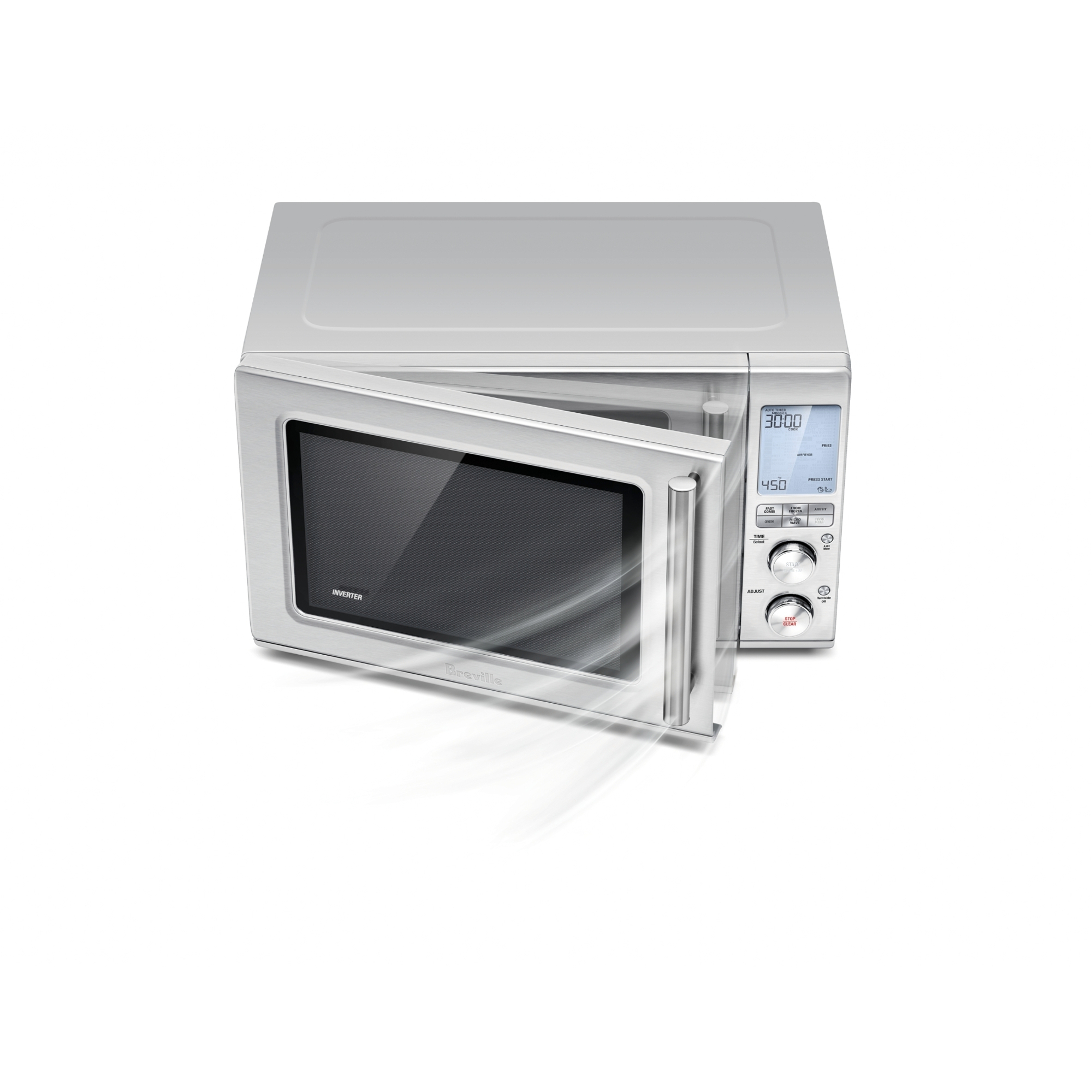 breville the combi wave 3 in 1 stainless steel microwave