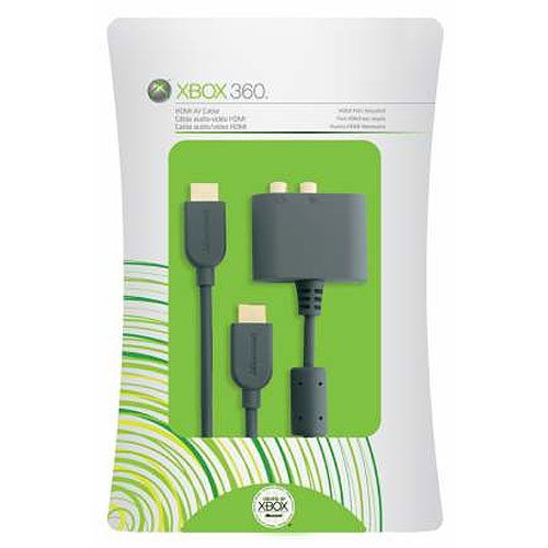 Microsoft Xbox 360 HDMI AV Cable HDMI Cable HDMI M To HDMI M 66 Ft Shielded For