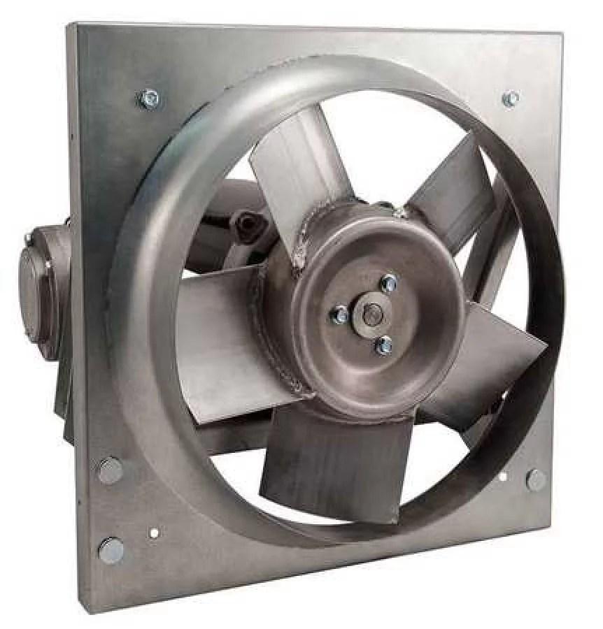 dayton 32zn53 panel exhaust fan 12in 115 208 230v