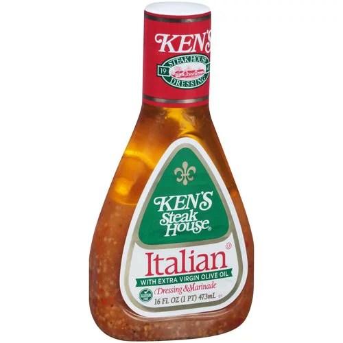 Ken39s Steak House Italian Dressing Marinade 16 fl oz