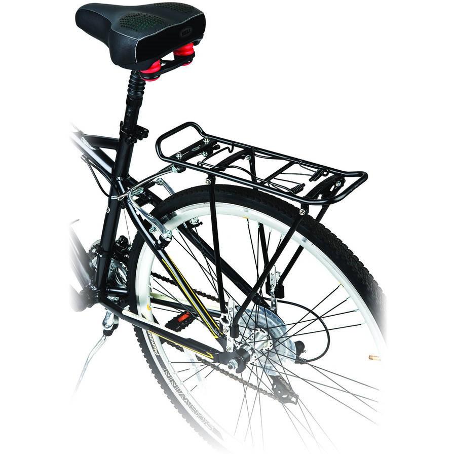 bell caddy 510 rear bike rack black