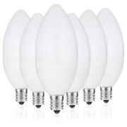 Led Chandelier Bulb 60 Watt Equivalent 6 Candelabra Warm White