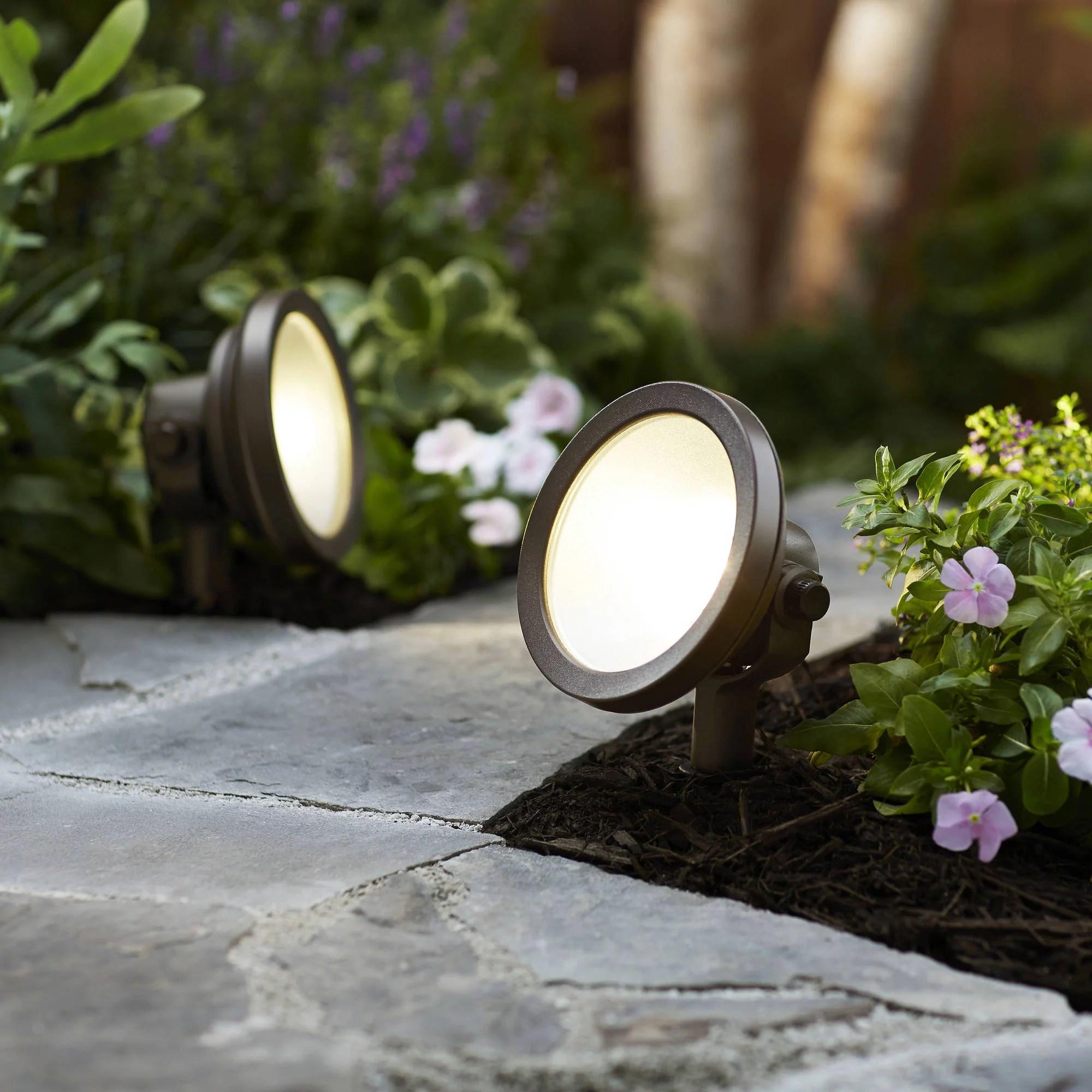 better homes gardens 1 piece quickfit led wall wash light walmart com