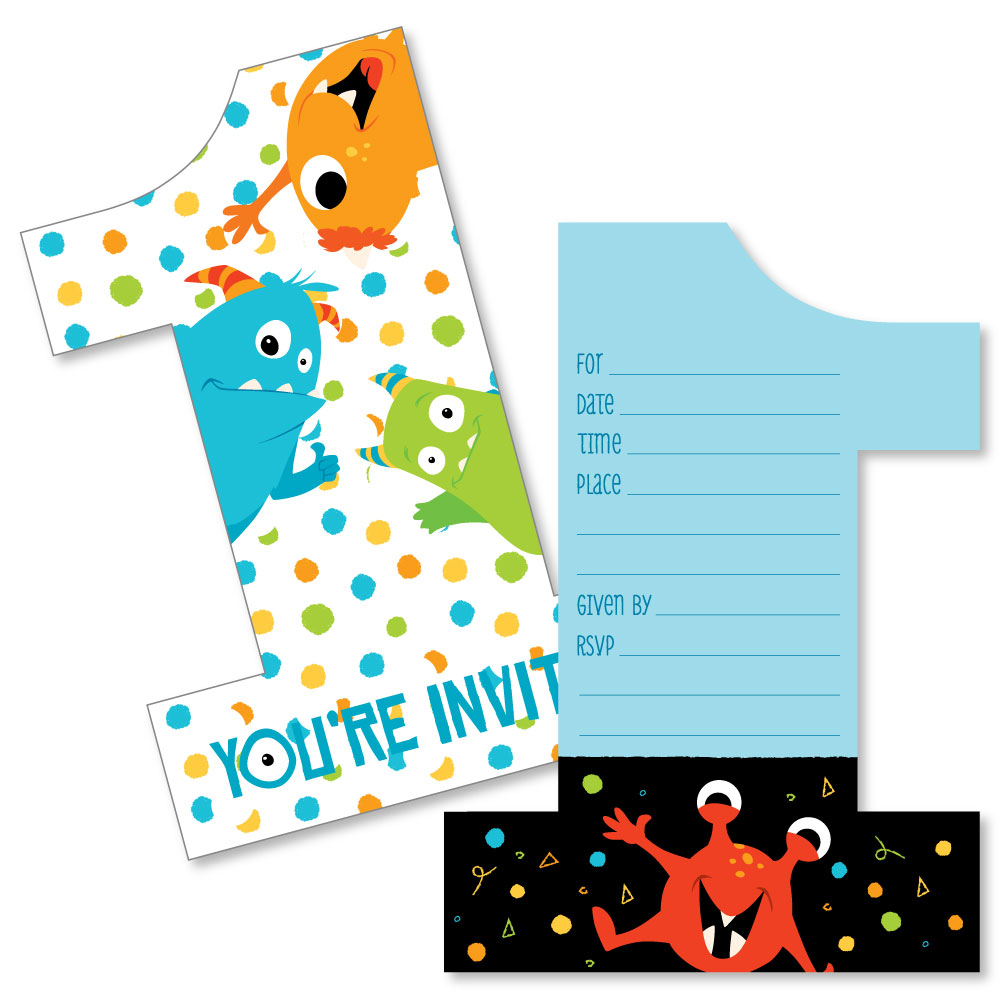 first birthday party invitations fun